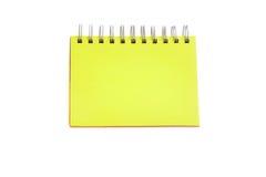 Página verde do caderno Fotos de Stock Royalty Free