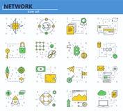 Página web UI y ilustración del vector