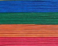 Páginas coloridas do livro Imagens de Stock