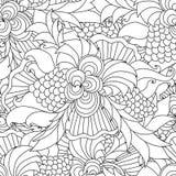 Páginas da coloração para adultos Imagem de Stock Royalty Free