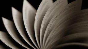Páginas de giro do livro velho, close-up rendição 3d Imagens de Stock Royalty Free