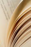 Páginas de papel Imagens de Stock