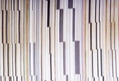 Páginas de papel Fotos de Stock