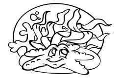 Páginas del colorante del alfabeto libre illustration