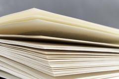 Páginas del libro (cloro libre) Fotos de archivo libres de regalías