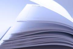 Páginas do caderno Imagens de Stock