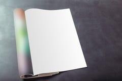 Páginas do compartimento foto de stock