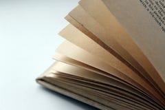 Páginas do livro Foto de Stock