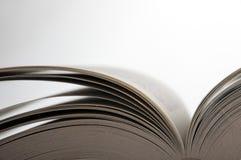 Páginas do livro aberto Imagens de Stock Royalty Free