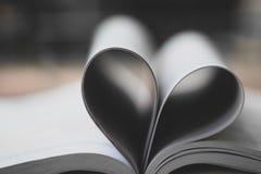 Páginas dos livros foto de stock