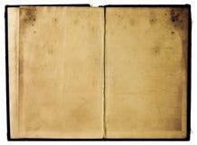 Páginas gastos do livro fotografia de stock