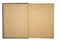 Páginas Textured em um livro Fotografia de Stock