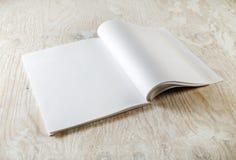 Páginas vazias do compartimento fotos de stock