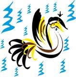 Pájaro abstracto Imagenes de archivo