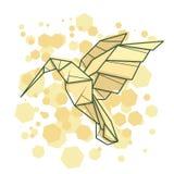 Pájaro abstracto del tarareo del ejemplo del vector libre illustration