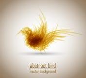 Pájaro abstracto del vector Imagenes de archivo