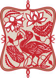 Pájaro chino Stock de ilustración
