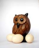 Pájaro con el huevo Imagen de archivo