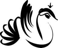 Pájaro de Absctract Fotografía de archivo libre de regalías