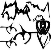 Pájaro de Adstract Ilustración del Vector