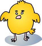 Pájaro de bebé gordo Imagen de archivo