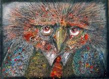 Pájaro de la fantasía Fotos de archivo