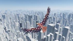 Pájaro de la libertad Fotos de archivo libres de regalías