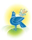 Pájaro de la primavera Fotografía de archivo