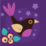 Pájaro de la tela Imágenes de archivo libres de regalías