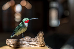 Pájaro de madera Fotos de archivo libres de regalías
