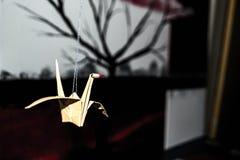 Pájaro de Origami Imágenes de archivo libres de regalías