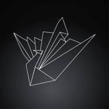 Pájaro de Origami Fotos de archivo libres de regalías