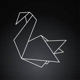 Pájaro de Origami Fotografía de archivo libre de regalías