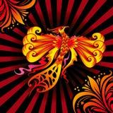 Pájaro de Phoenix Imagenes de archivo