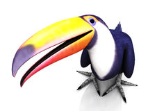 Pájaro de Toucan Ilustración del Vector