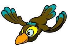 Pájaro de vuelo Foto de archivo libre de regalías