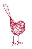 Pájaro del alambre Fotos de archivo