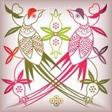 Pájaro del estilo chino Imagenes de archivo