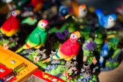 Pájaro del juguete Imagen de archivo libre de regalías