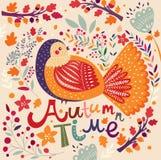 Pájaro del otoño Fotos de archivo libres de regalías