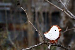 Pájaro del pan de jengibre Imagenes de archivo