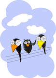 pájaro del ?Three Imagen de archivo