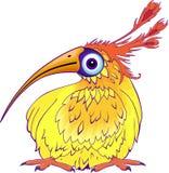 Pájaro divertido de la historieta Foto de archivo