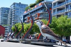 Pájaro gigante Imagenes de archivo
