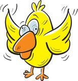 Pájaro loco ilustración del vector
