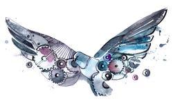 Pájaro mecánico Imágenes de archivo libres de regalías