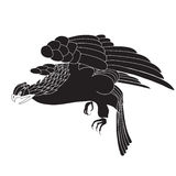 Pájaro negro Imagen de archivo