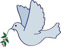 Pájaro que lleva el mundo Ilustración del Vector
