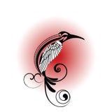 Pájaro tribal Imagenes de archivo