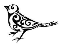 Pájaro tribal Imagen de archivo